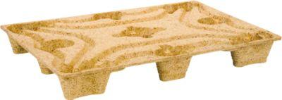 INKA Pallets van houtvezel, EURO-formaat, type  F 8 LF, 25 stuks