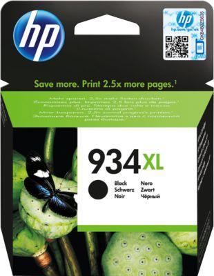 Inktpatroon HP 934XL zwart