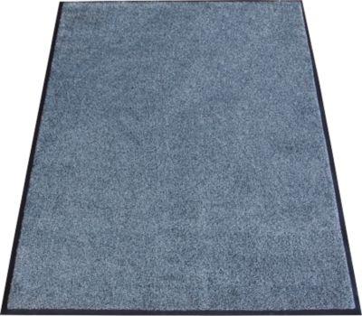 Inloopmat Karaat, high-twist nylon, 1150 x 1800 mm, grijs