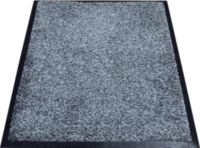 Inloopmat Karaat, high-twist nylon, 600 x 850 mm, grijs