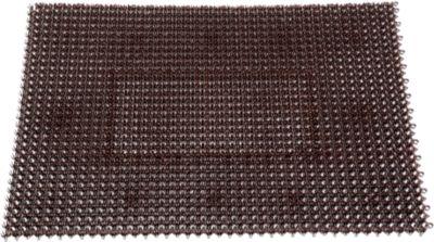 Inloopmat Step In, van polyetheen, voor binnen en buiten, 570 x 860 mm, bruin