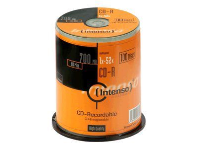 Intenso - CD-R x 100 - 700 MB - Speichermedium