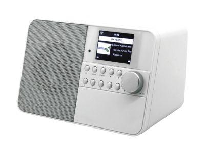 Internetradio Soundmaster IR6000, 5 in 1, TFT-Farbdisplay, 5 W, inkl. Fernbedienung, weiß