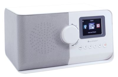 Internetradio und Streamingbox Soundmaster IR5500, Wettervorhersage u. Weckfunktion