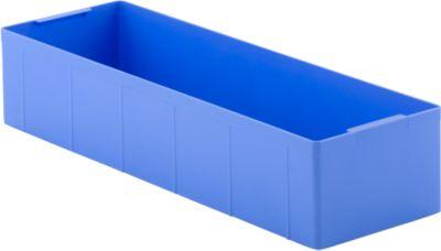Inzetbak EK 115, polypropeen blauw, 18 stuks
