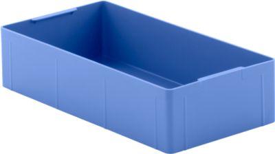 Inzetbakjes EK 14-4, blauw, PE, 12 stuks