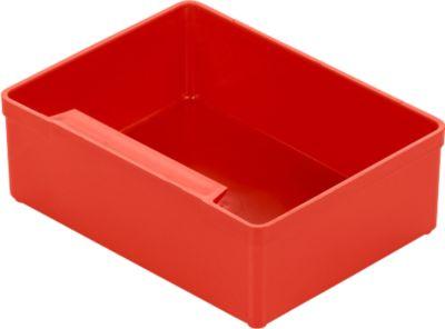 Inzetbakjes EK 353, 105x79x35 mm, rood - x30