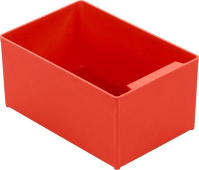 Inzetbakjes EK 753, rood - 10 stuks