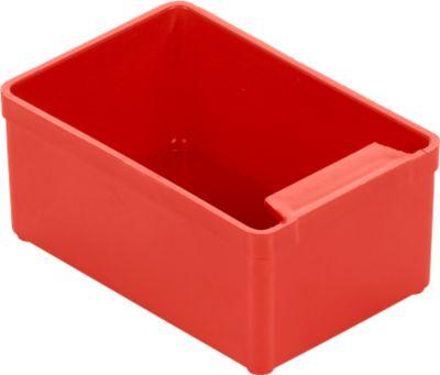 Inzetbakjes EK352, 79x53x35 mm,  rood - x50