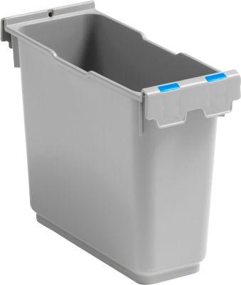 Inzetstuk 6 liter, voor enkele rolemmer Poly II, blauw kenmerk