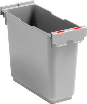 Inzetstuk 6 liter, voor enkele rolemmer Poly II, rood kenmerk