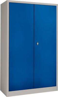 IP-Schrank MS 2509/13 hellsilber/blau