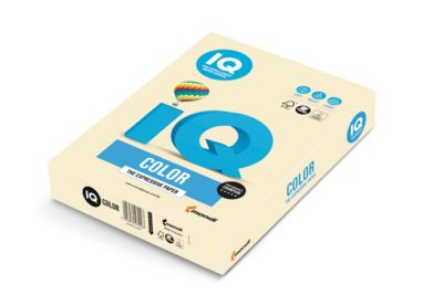 IQ Color Pastellfarbe, DIN A4, 120g, 250 Blatt, chamois