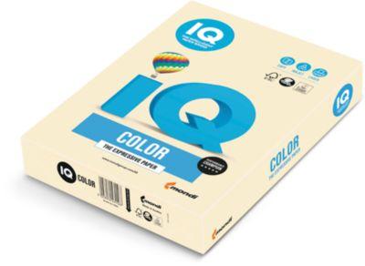 IQ Color Pastellfarbe, DIN A4, 80g, 500 Blatt, chamois