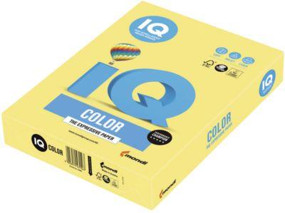 IQ Color Trendfarbe, DIN A4, 80g, 500 Blatt, zitronengelb