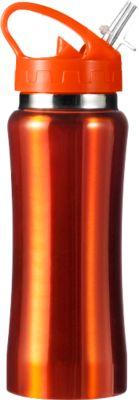 Isolierflasche Glauchau, 0,5 Liter, orange