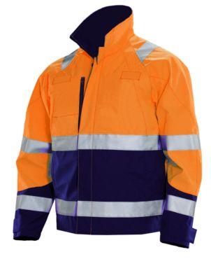 Jacke HV orange/marine XXXXL