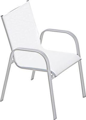 Jan Kurtz stapelbare stoel Fanny, set van 4, wit
