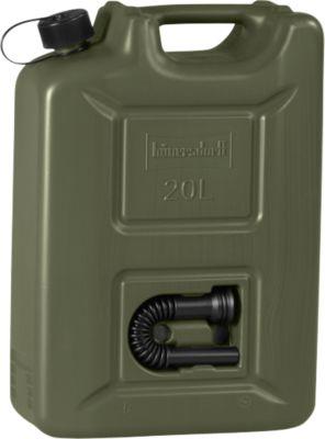 Jerrycan voor motorbrandstof PROFI, olijf, 20 liter