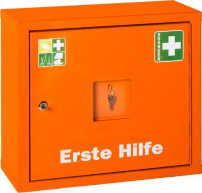 Juniorsafe Norm, mit Inhalt, B 490 x H 420 x T 200 mm, orange