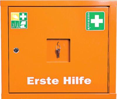 Juniorsafe Norm Plus, mit Inhalt+Erweiterungsset, B 490 x H 420 x T 200 mm, orange