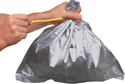 Justrite afvalzakken, voor staande asbak, aluminium bekleding, 50 stuks
