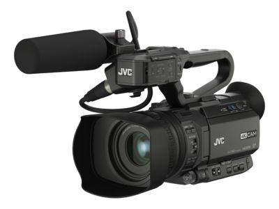 JVC 4KCAM GY-HM180E - Camcorder - Speicher: Flash-Karte