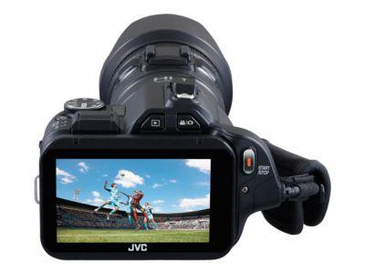 JVC GC-PX100 - Camcorder - Speicher: Flash-Karte