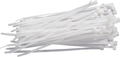 Kabelbinder, 200 x 4,6 mm, natur, 100 Stück