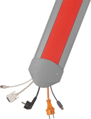 Kabelbrücken B15 EasyLoader Flexi, 3000 mm, rot