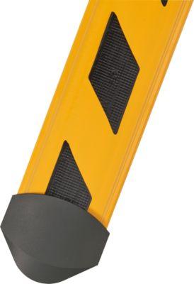 Kabelbrug B15 CB Compact, 1500 mm, geel/zwart gestreept