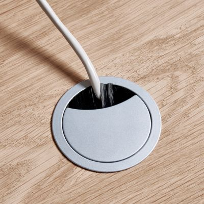 Kabeldoorvoer links gemonteerd, Ø 60 mm
