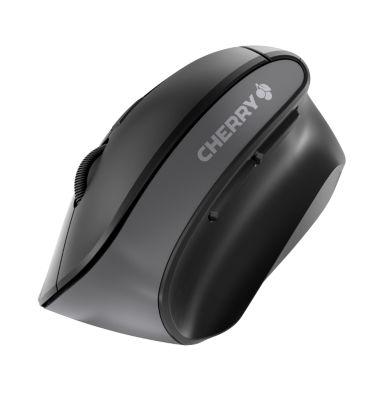 Kabellose Maus Cherry Ergonomic MW 4500, USB-Anschluss, ergonom. Rechtshänderdesign