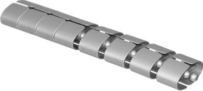 Kabelschlange Premium, L 750 mm, silber