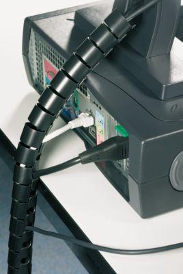 Kabelschutzschlauch Helawrap, 25 mm, schwarz