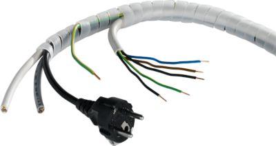 Kabelspiraalslang, transparant