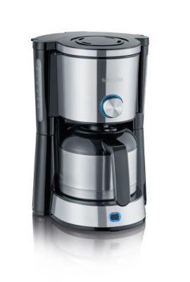 Kaffeemaschine TypeSwitch KA 4845, 1000 W, für bis zu 8 Tassen, 2 Brühmodi, inkl. Stahlkanne, schwarz-silber