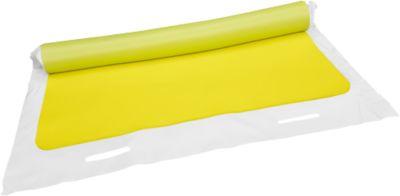 Kanaalbeschermingsafdichtingsmat, rechthoekig, met handgrepen aan beide zijden, 1000 x 1000 mm