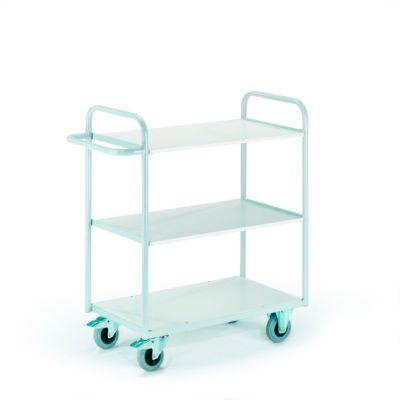 Kantoorwagen zonder wanden, 1000 x 500 mm, draagvermogen 150 kg