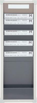 Karten-Sortiertafeln Eichner 9219 Serie, ideal für DIN A4, 1-spaltig, H 750 x B 260 mm