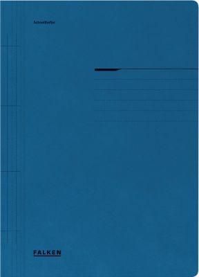 Kartonnen snelhechtmap, blauw
