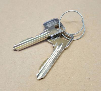 Kassierschlüssel zur Leerung der Münzbox