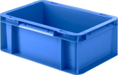 Kasten im EURO-Maß EF 3120, ohne Deckel, 4,2 l, blau