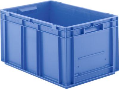 Kasten im EURO-Maß EF 6320, ohne Deckel, 63,7 l, blau