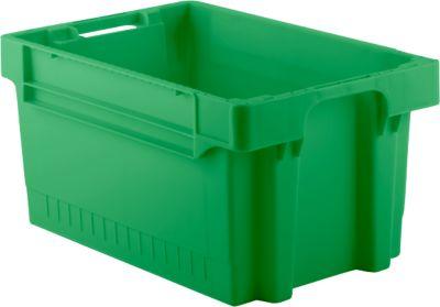 Kasten im EURO-Maß EFB 643, 54 l, grün