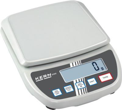 Kern EMS laboratorium balans, max. 6 kg, 1 g stappen, 1 g stappen