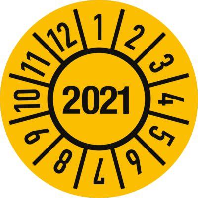 Keuringsvignetten, elektr. gekeurd (2019-2024), Duitstalig, 100 stuks