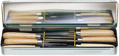 Keyfiles 6 stuks 100 mm Gesneden 6 stuks 100 mm 2