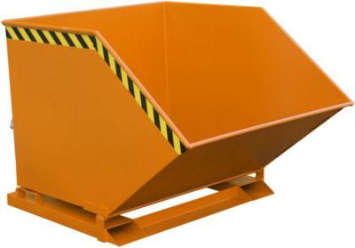 Kiepcontainer SKK 1000, oranje