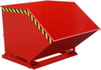 Kiepcontainer SKK 1000, rood